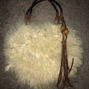 Handbags - Mongolian Lamb Fur Bad